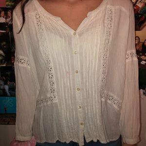 long sleeve detailed shirt